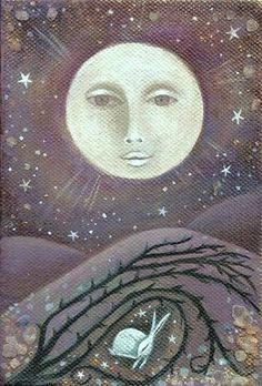 Moon and Rabbit