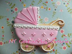 Pink Baby Girl carriage