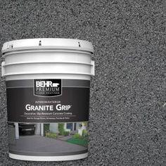 Imperial Jade Decorative Flat Interior/Exterior Concrete Floor - The Home Depot BEHR Premium 1 gal. Imperial Jade Decorative Flat Interior/Exterior Concrete Floor - The Home Depot Concrete Floor Coatings, Concrete Resurfacing, Concrete Bricks, Concrete Floors, Painting Concrete Patios, Concrete Floor Paint, Concrete Paint Colors, Painted Concrete Porch, Garage Floor Paint
