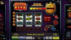 Super Dice kockás, órás nyerőgépes játékígn
