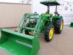 John Deere 5065E with  550 loader