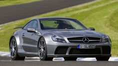Mercedes SL65 AMG BLACK  Can't help it. I just LOVE this car.