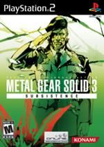 Order Metal Gear Solid 3 Subsistence Playstation 2 game available for sale. Metal Gear 3, Metal Gear Solid 3, Metal Gear Games, Heavy Metal, Hack And Slash, Playstation 2, Juegos Ps2, Videogames, Arkham City