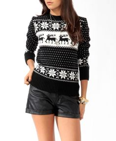 Fair Isle Sweater... i need this
