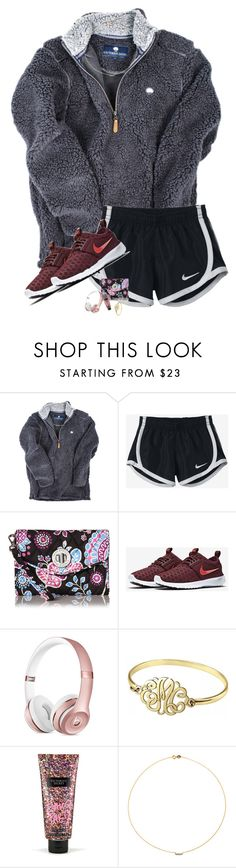 """•going to alabama and tn this weekend•"" by sarah-grace-m ❤ liked on Polyvore featuring NIKE, Vera Bradley, Alison & Ivy, Victoria's Secret and Sole Society"