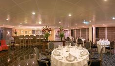 Aqualina is contemporary Italian restaurant on board #AzamaraQuest