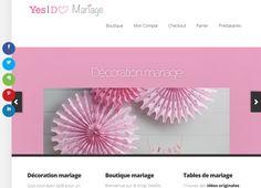 Ouverture de notre boutique en ligne dédiée au mariage. Découvrez notre sélection de produits afin de parfaire la décoration de votre mariage.
