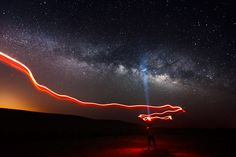 How To Shoot An Electrifying Self-Portrait Under The Milky Way