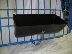 pig feeders   feeder picture shows feeder mounted on show gate 18 hanging pig feeder ...