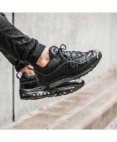 separation shoes 74d6b 57d54 Nike Air Max 98 Homme Chaussures Noir. Chaussures Air MaxChaussures NoiresChaussures  FemmeNike Air Max Pas ChèresVente ...