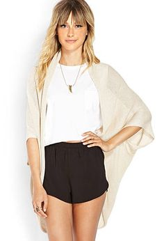 Draped Shawl Cardigan | FOREVER21 - 2000124239