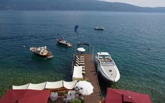 Since over than fifty years Hotel Baia d'Oro offers its guests the best service, so that they can spend an unforgettable holiday on Lake Garda. Lake Garda Italy, Hotel, Gold, Patio, Wine Cellars, Lake Garda, Luxury