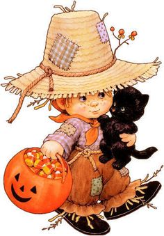sweet little scarecrow