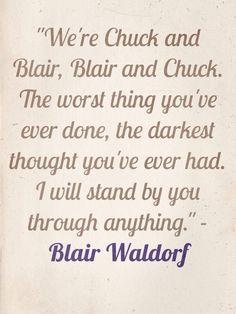 chuck and blair | Tumblr