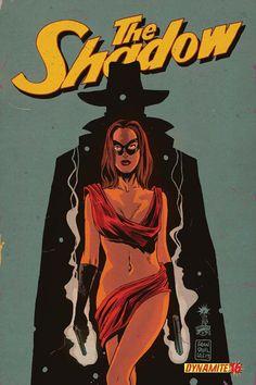 The Shadow 16. Cover by Francesco Francavilla.