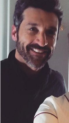 We may have lost Derek Shepherd but we were blessed with Patrick Dempsey's new beard