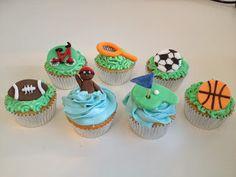 Cupcakes de deportes