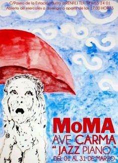 cartel BAR ALTERNATIVO MOMA