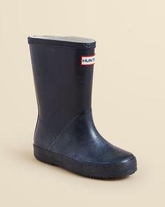Hunter Kids' First Rain Boots - Toddler, Little Kid