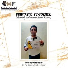 An IT maverick whose never say never die  attitude has brought him laurels and this time he has excelled in all the metrics and has won the best quarter award . Akshay Badale has the most in him to be the next leader at Mind Frame who would set standards that would help him achieve all his dreams . #mindframeindia #creativeagency #marketingagency #digitalmarketing #mumbai #india #seo #sem #brandcommunication #passionate #hardworkpaysitoff #satysafe #stayhome #andheri #socialmediamarketing Social Media Marketing, Digital Marketing, Seo Sem, Never Say Never, Award Winner, Web Development, Mumbai, Work Hard, Attitude