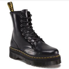 Dr. Martens Jadon boots Worn maybe once or twice.  Excellent condition. Dr. Martens Shoes Combat & Moto Boots
