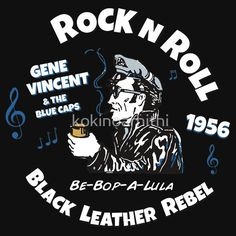 GENE VINCENT - BE BOP A LULA white