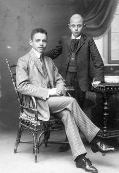 Hungarian Young Men - 1909