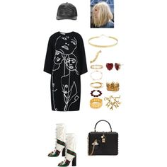 xxx by anelanaiara on Polyvore featuring polyvore, fashion, style, STELLA McCARTNEY, Gucci, Dolce&Gabbana, Lana, Betsey Johnson, Chanel and Annoushka