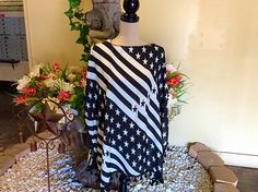 We are having a great Pre-4th of July sale . Don't miss out on our new ponchos& infinity scarves
