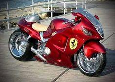 Kawazaki or Ferrari