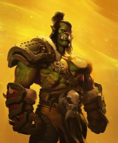 "+ Grommash hellscream saw his own death. but it wasn't all. ""Garrosh! you no difference than Mannoroth!!"" +"