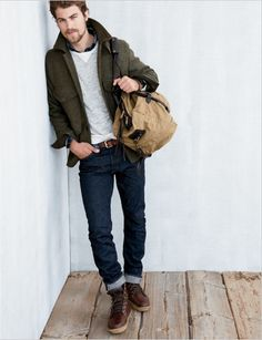 layered relaxed weekend look