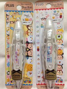 Kawaii adhesive tape; Disney Tsum Tsum; Decotape Planner Decoration; washi; Deco Rush *1 roller*