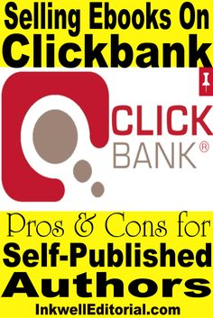 Self-published a book? Ever thought about selling it on Clickbank. I've been doing it for years -- here's a monster list of all the pros and cons so you can make a sound decision as to whether it's right for you as an indie author.