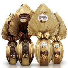 Ovos da marca Ferrero