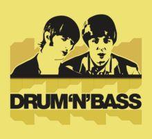 Drum 'n' Bass /The surviving Beatles / Ringo & Paul