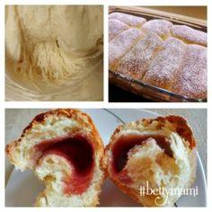 1 tészta 2 péksüti… természetes(en) kovásszal | Betty hobbi konyhája Nutella, Bread Recipes, Baked Potato, Potatoes, Pie, Baking, Ethnic Recipes, Desserts, Food