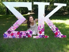 Greek Letters at a Price - The New York Times Delta Zeta Crafts, Sorority Crafts, Sigma Lambda Gamma, Alpha Sigma Alpha, Sorority Sugar, Sorority Life, Giant Letters, Large Letters, Wedding