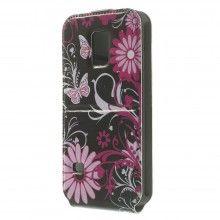 Capa Flip Samsung Galaxy S5 mini Design Natureza Flores 7 7,99 €