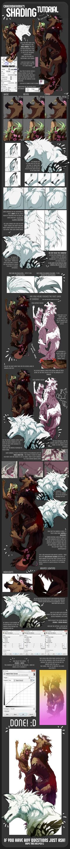 tutorial|SHADING by Cakeindafridge on DeviantArt