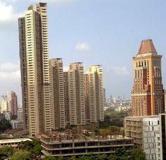 Vivarea Towers in floors) List Of Tallest Buildings, Floors Direct, Building Exterior, In Mumbai, Real Estate Agency, 2nd Floor, Seattle Skyline, Skyscraper, Multi Story Building