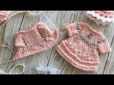 Crochet Doll Clothes, Knitted Dolls, Felt Dolls, Doll Clothes Patterns, Clothing Patterns, Knitted Hats, Knit Crochet, Crochet Hats, Crochet Videos