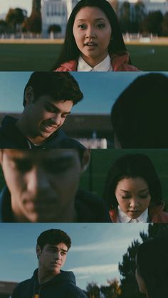 Because I'm in love with you Lara Jean Lara Jean, Movie Couples, Cute Couples, Love Movie, Movie Tv, Amor Romance, Love Is Scary, Jenny Han, Netflix Movies
