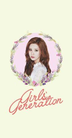 Girls' Generation SNSD Seohyun Lockscreen Phone Wallpaper