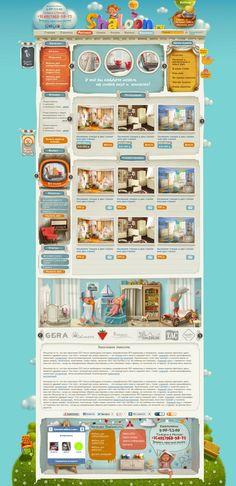 Baby-shop by Tatiana Koidanov, via Behance