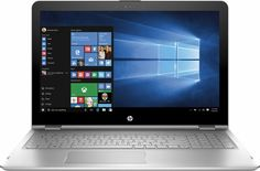 "HP - HP Envy x360 2-in-1 15.6"" Touch-Screen Laptop - Intel Core i7 - 16GB Memory - 1TB Hard Drive - Silver - Front Zoom"