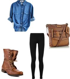 """""""One School Outfit"""" by nias-wash on Polyvore"""