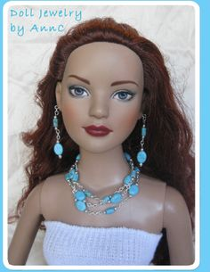 Doll Jewelry for 22 inch dolls, Tonner American Model