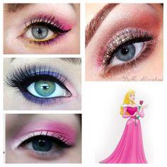 #Aurora inspired makeup