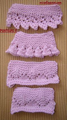 ideas for crochet lace english charts Knitting Stiches, Baby Knitting Patterns, Crochet Stitches, Crochet Patterns, Chevron Crochet Blanket Pattern, Crochet Headband Tutorial, Diy Crafts Knitting, Crochet Baby Bonnet, Crochet Lace